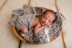 smiley sleepy newborn east midlands