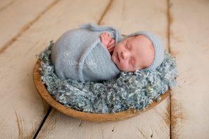 wrapped newborn derby