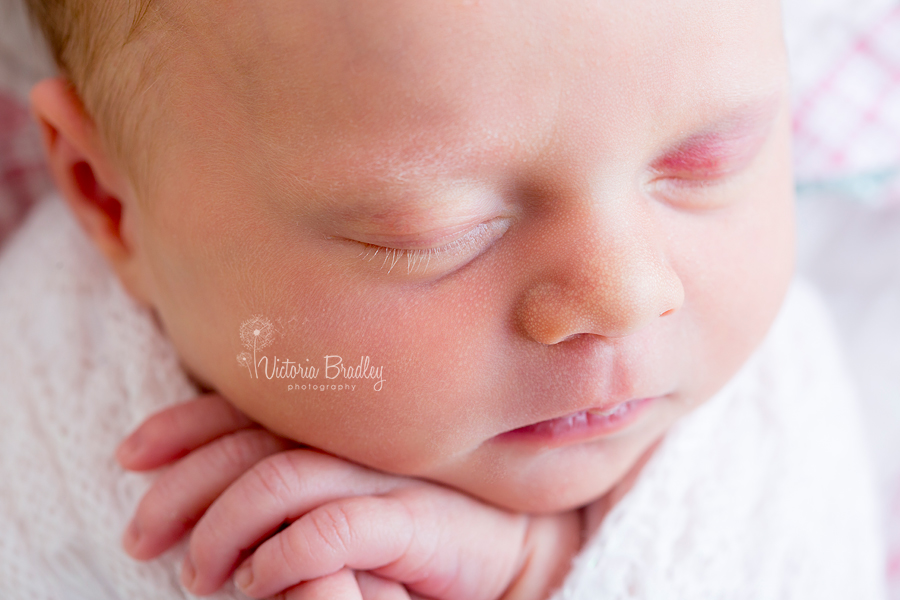 close up macro shot of baby
