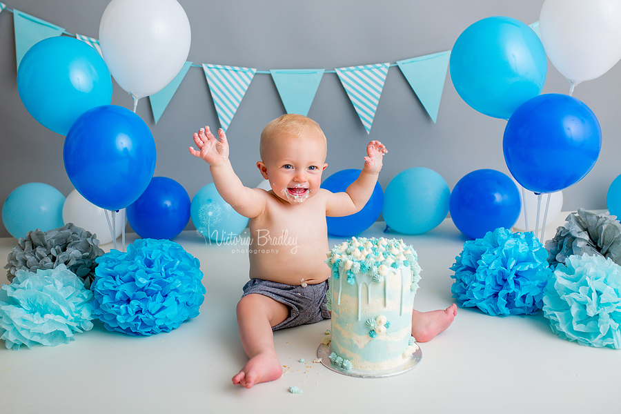 first birthday cake smash photography mansfield