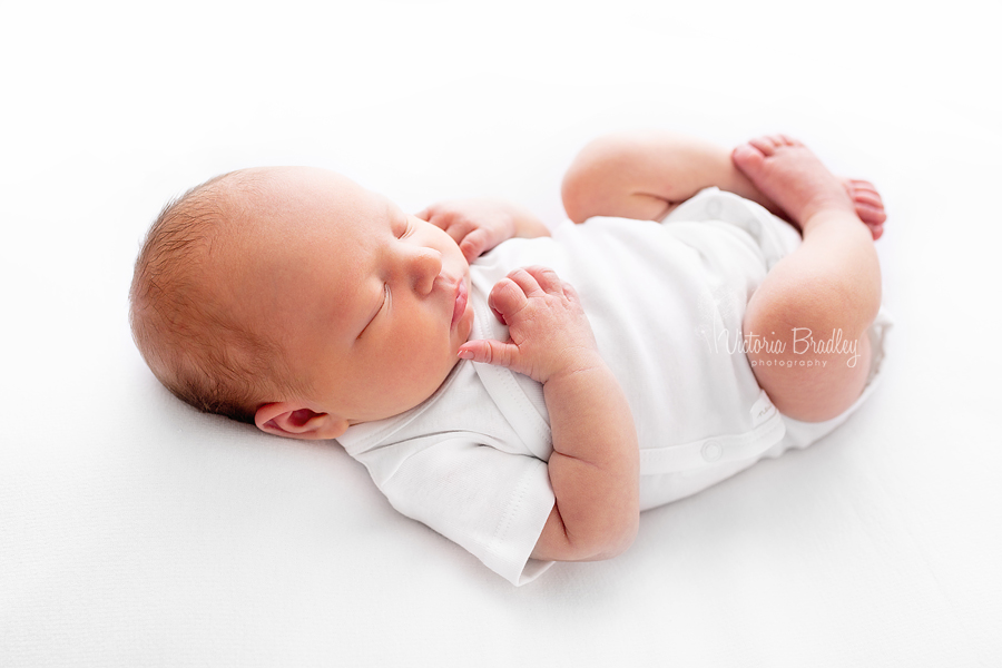newborn baby white natural
