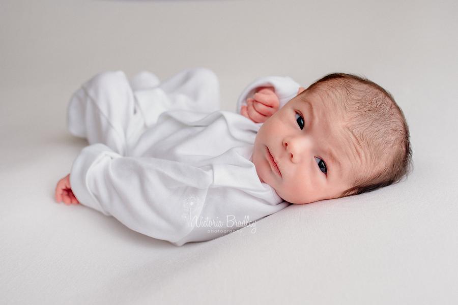 newborn baby photography awake baby