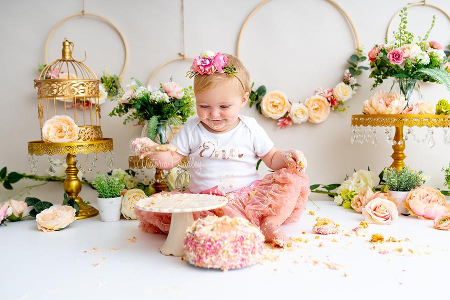 baby first cake smash