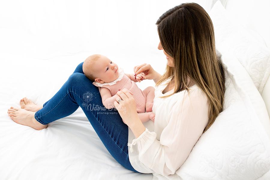mummy and baby shot