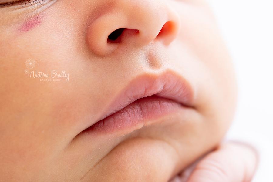 macros of baby lips